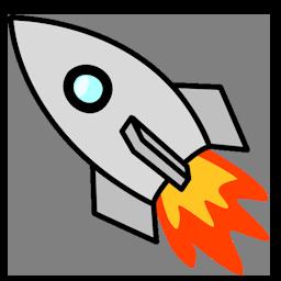 Zooming Rocket